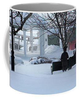 Winter In New Hampshire Coffee Mug
