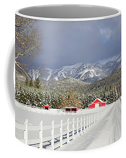 Winter In The Country Coffee Mug