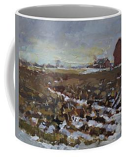 Winter In The Farm Coffee Mug