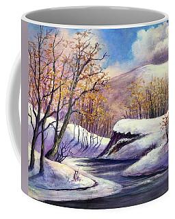 Winter In The Garden Of Eden Coffee Mug