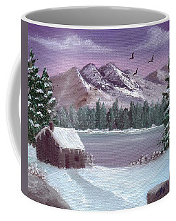 Winter In The Mountains Coffee Mug