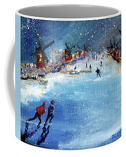 Winter In The Netherlands Coffee Mug