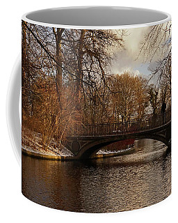 Coffee Mug featuring the photograph Winter In The Park- 365-277 by Inge Riis McDonald