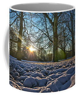 Winter In The Park Coffee Mug