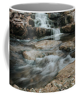 Winter Inthe Falls Coffee Mug by Iris Greenwell