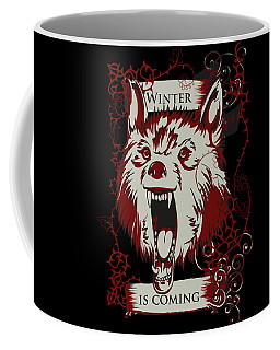Winter Is Coming Coffee Mug