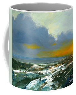 Winter Lake View Coffee Mug