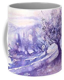 Winter Landscape Early Morning  Coffee Mug
