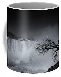 Winter Leaves Niagara Mono Coffee Mug
