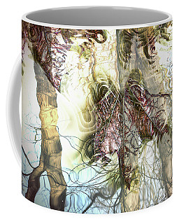 Winter Leaves Coffee Mug