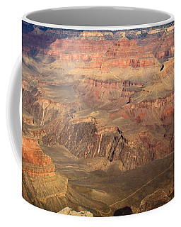 Winter Light In Grand Canyon Coffee Mug