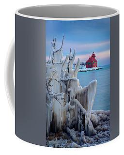 Winter Lighthouse Coffee Mug