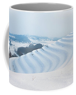 Winter Lines Coffee Mug