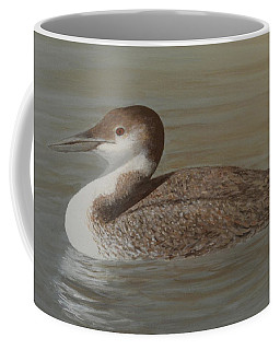 Winter Loon Coffee Mug
