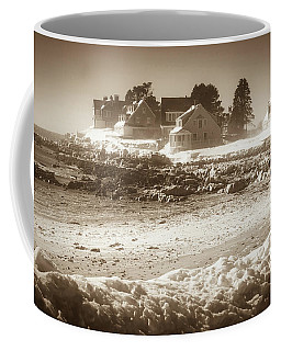Winter - Lord's Point - Kennebunk Coffee Mug