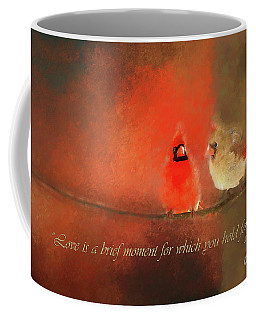 Coffee Mug featuring the photograph Winter Love2 by Darren Fisher