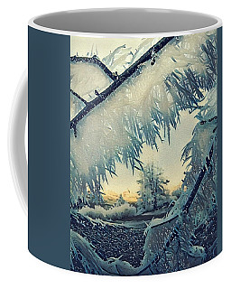 Coffee Mug featuring the photograph Winter Magic by Colette V Hera Guggenheim