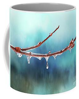 Winter Magic - Gleaming Ice On Viburnum Branches Coffee Mug