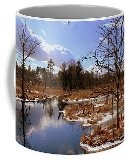 Winter Marsh Coffee Mug