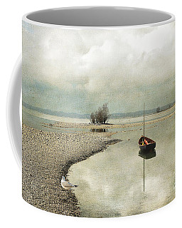 Winter Morning By The Lake Coffee Mug