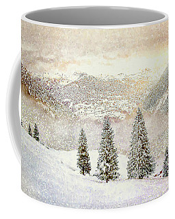 Winter Morning Coffee Mug by Kai Saarto