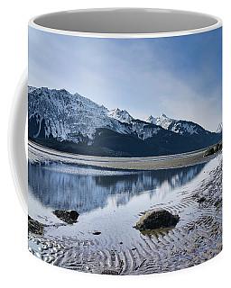 Winter Mountain Reflections Coffee Mug