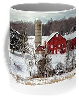 Winter On A Farm Coffee Mug