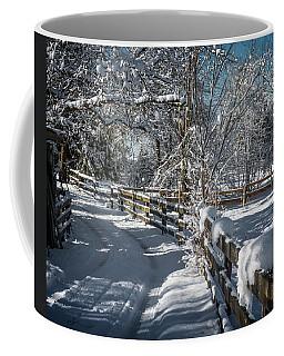 Winter On Ruskin Farm Coffee Mug