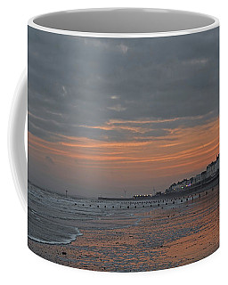 Winter On The Beach Coffee Mug