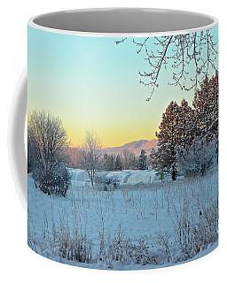 Winter On The Tree Farm Coffee Mug
