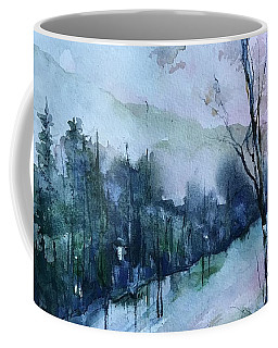 Winter Paradise Coffee Mug by Robin Miller-Bookhout