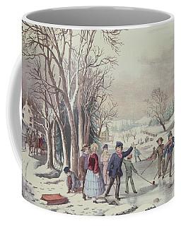 Winter Pastime Coffee Mug