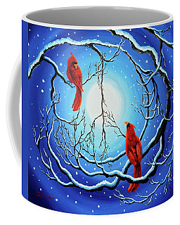 Winter Peace Coffee Mug by Laura Iverson