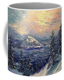 Winter Peace Coffee Mug