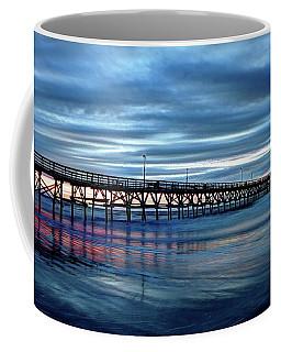 Winter Pier Coffee Mug