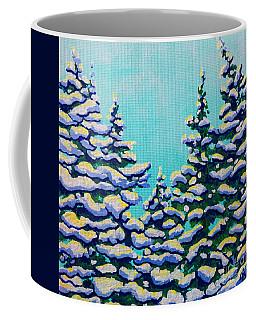 Winter Pines Coffee Mug