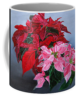 Winter Poinsettias Coffee Mug