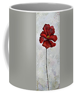 Winter Poppy I Coffee Mug
