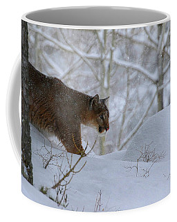 Winter Prowler Coffee Mug