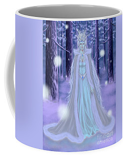 Winter Queen Coffee Mug by Amyla Silverflame