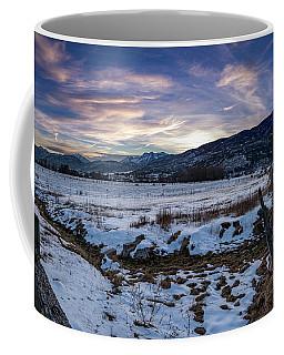 Sunset Range Coffee Mug