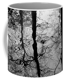 Coffee Mug featuring the photograph Winter Reflection by Inge Riis McDonald
