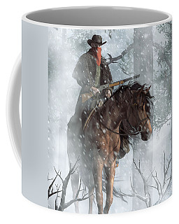 Winter Rider Coffee Mug