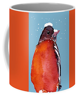Winter Robin Coffee Mug