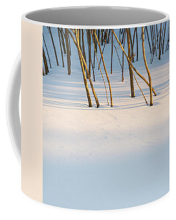 Winter Scene - Abstract Coffee Mug