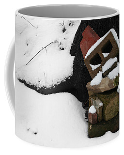Coffee Mug featuring the photograph Winter Sculpture by Dylan Punke