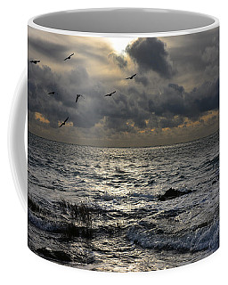 Winter Seascape Coffee Mug