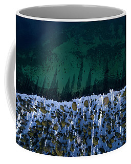Winter Shores Aerial Coffee Mug