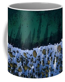 Winter Shores Aerial Coffee Mug