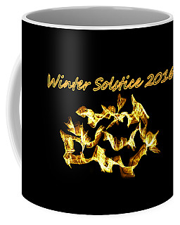 Winter Solstice Flame Coffee Mug